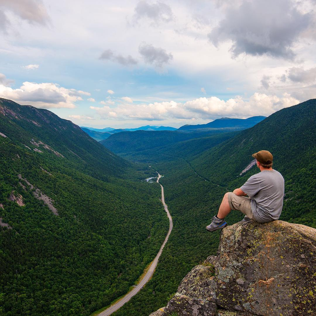 @jsecordphoto took to Crawford Notch in NH this weekend ⛰