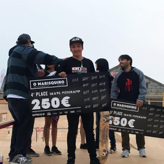 @luiznetosk8 em 4º lugar no Campeonato Mundial de Minirrampa na Espanha. #qix #qixskate #skateboardminhavida #skate