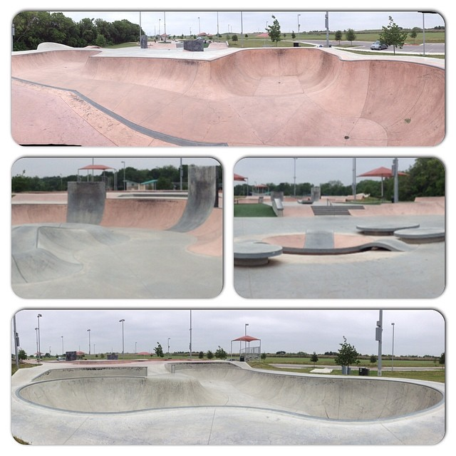 Final post from #Texas. Another ghost town of a park. Pflugerville, home of a once-famous ditch (RIP). #skate #skateboarding #skateboard #skate #skatelife #skatepark #empty #fun