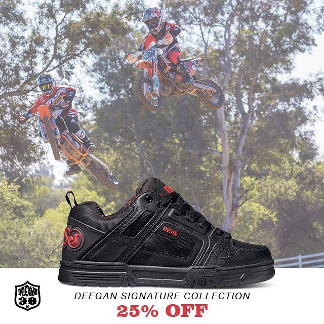 The @dvsshoes x @briandeegan38 Fall 2016 collection is now available, we'd like to offer 25% off my signature colorway of the #DVScomanche - use promo code DEEGAN. Click my link in bio for more info. #ALLINGOODFUN #deegan38