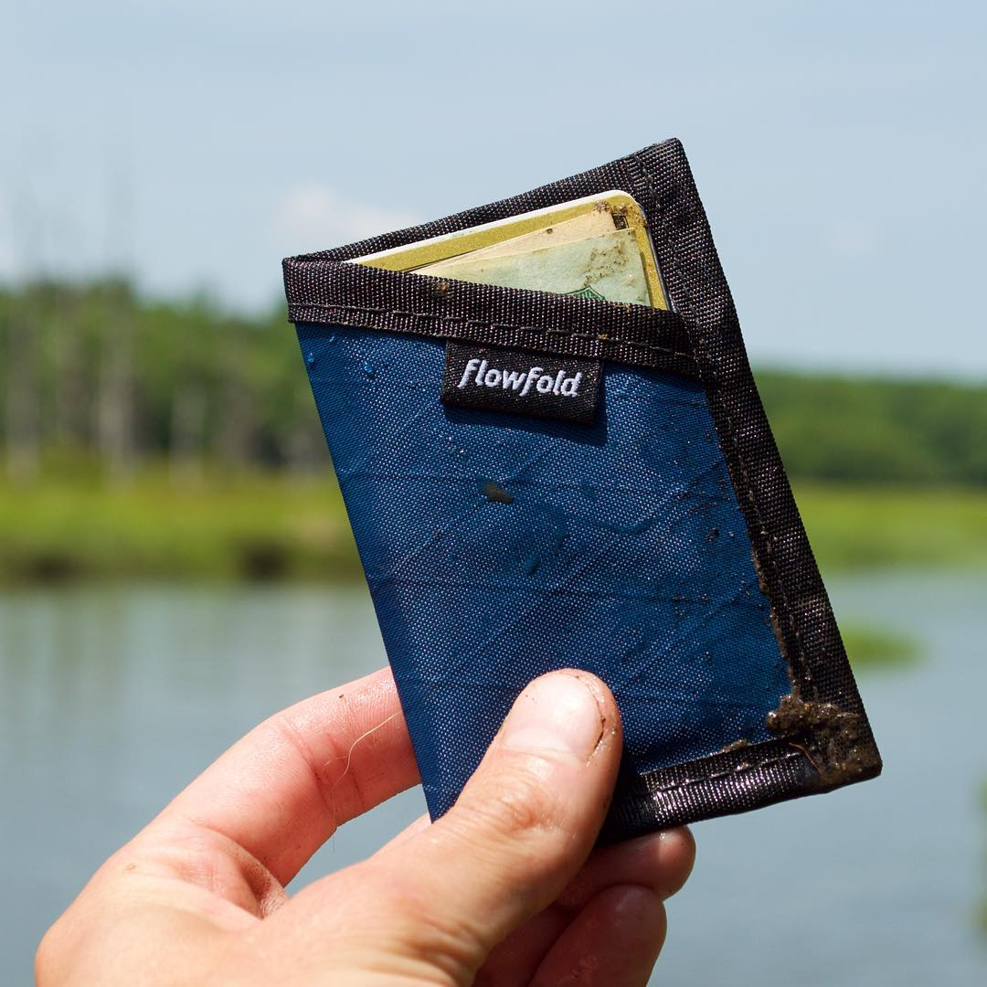 The #Flowfold Minimalist Limited wallet is a simple pocket for cards and cash. With style for miles and a lifetime warranty, you can beat the crap out this wallet and expect it to last for years. Find it using link in profile.