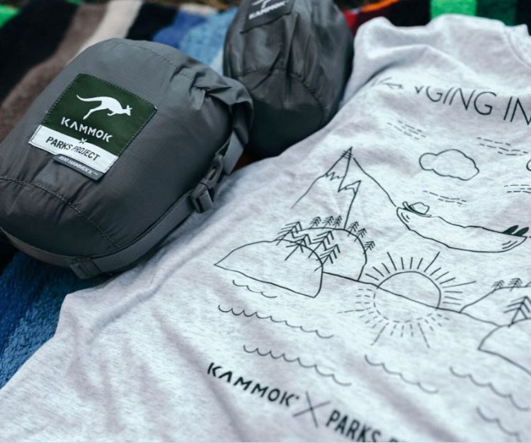 HANGING IN THE PARKS The hammock/tee/straps collab bundle is now available on kammok.com for one-fity. We've teamed up to support getting underserved youth outside. Through this initiative, our goal is to fund 1,000 students on a life-changing...