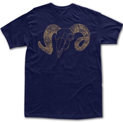 LA RAMS PRIDE!!! LIMITED EDITION BBR Surfwear CALIRAMA T SHIRT.  For a limited time get your LA Rams Pride on in Surf Style.  Hurry while supplies last!  Navy T Shirt with Metallic Gold Ram  http://www.bbrsurf.com/product/calirama/  #larams...