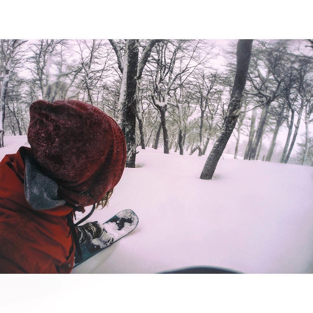 Disfrutando la gran nevada que nos dejó la tormenta de los últimos días ❄️