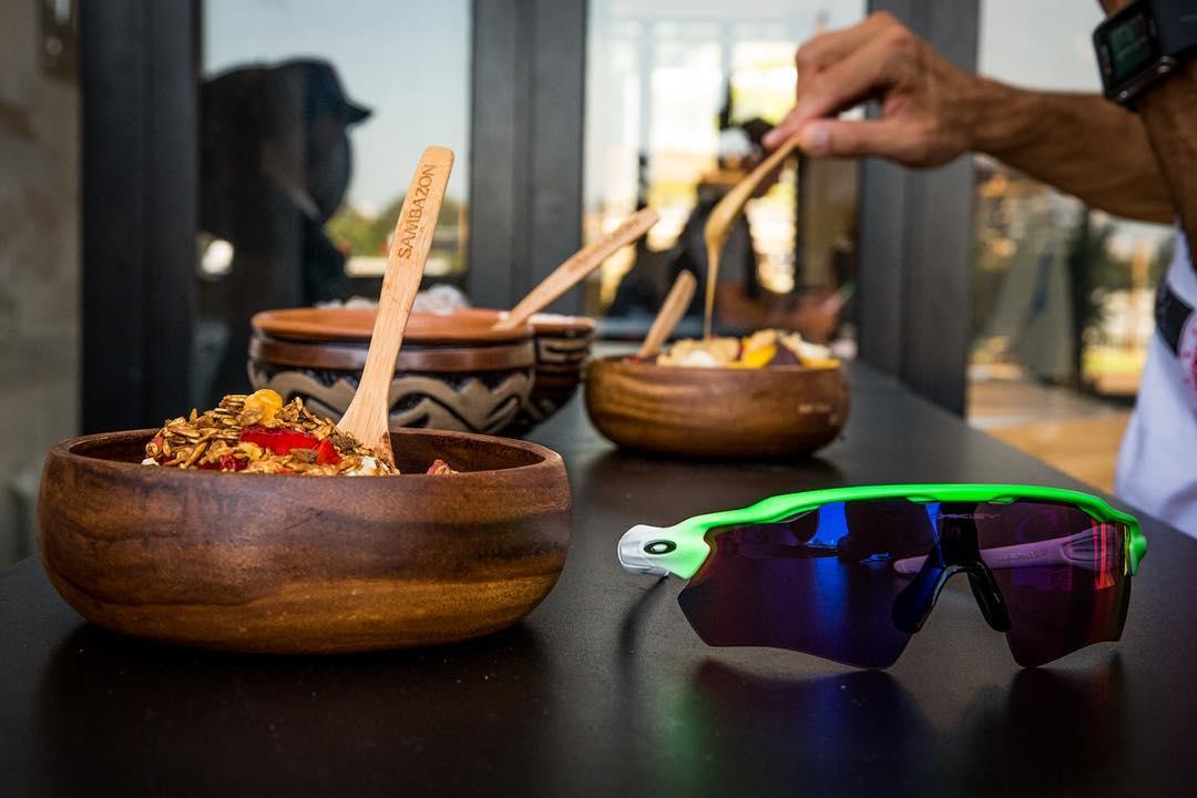 #TeamOakley Rio essentials: Açai + #OakleyPrizm.