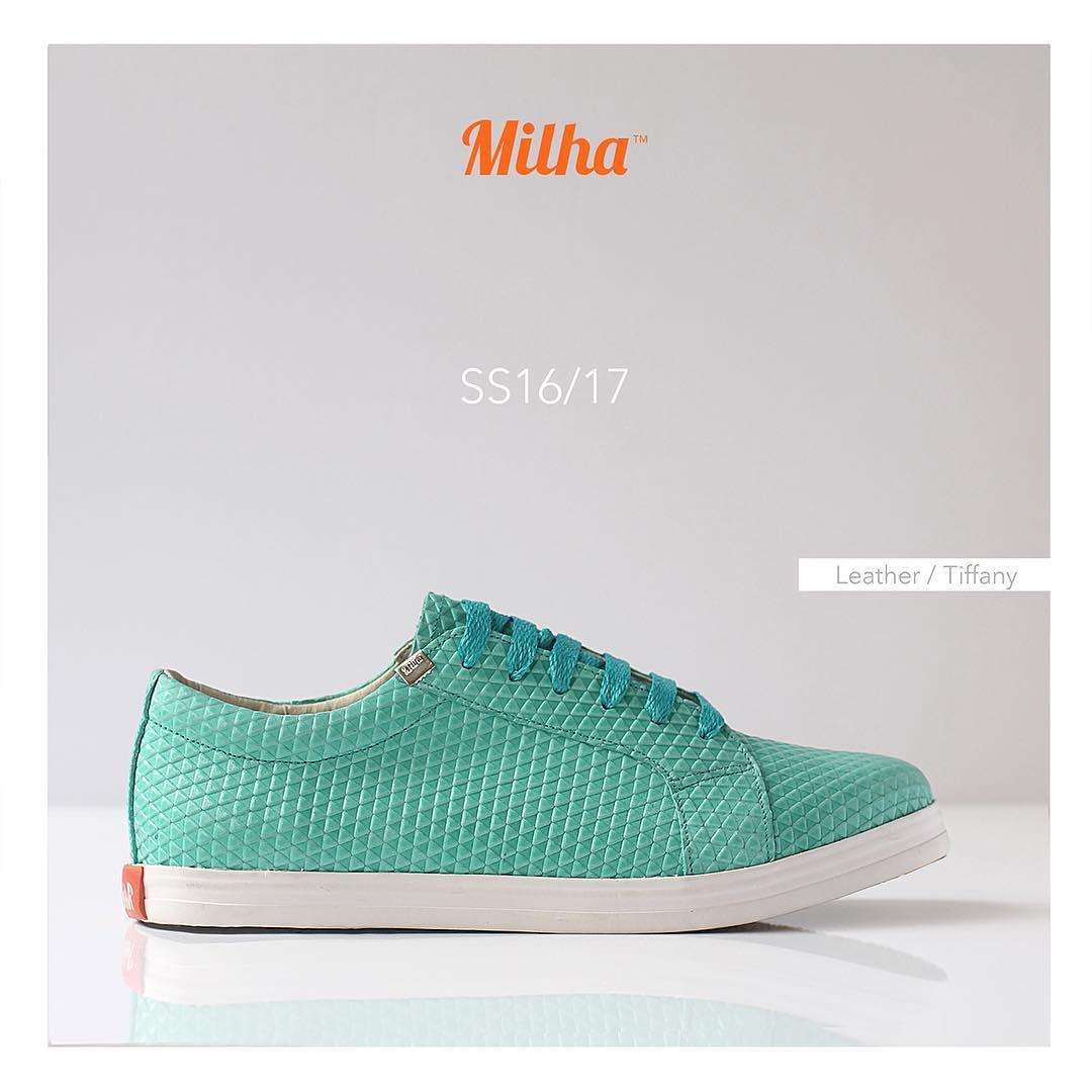 Milha™ Tiffany: 100% cuero. Un producto premium de la línea que combina elegancia y moda con la comodidad de una zapatilla. #milha #milhasoho #tiffany #zapatillas #leather #sneakers