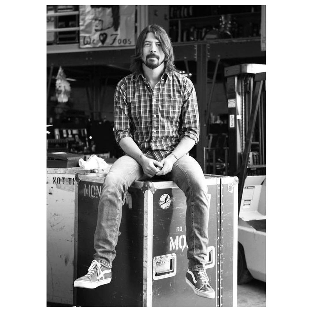 Dave Grohl - The Original #Sk8Hi