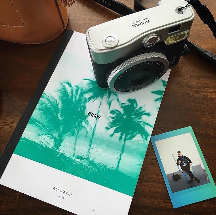 Whether your journey is near or far, short or long, we strongly encourage bringing along some analog travel companions. Instant film and handwritten/handdrawn memories simply make sense together. @_bethorourke_ gets it. #capturethemoment