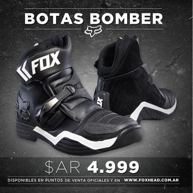Adquirí tus nuevas botas Fox Bomber en Fox Head Argentina.  Las mejores botas al mejor precio: AR$ 4.999.- Disponibles en nuestros distribuidores oficiales de todo el país. Consultanos por un punto de venta en tu área!  También podes adquirirlas en el...