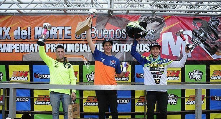 Nuestro piloto @joaquinpoli199 sumando victorias en mx del norte este fin de semana. Felicitaciones Joaco!