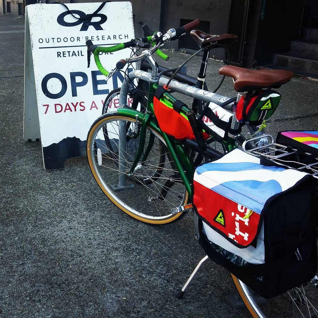 Great meeting with our friends at #outdoorresearch #seattle #bike