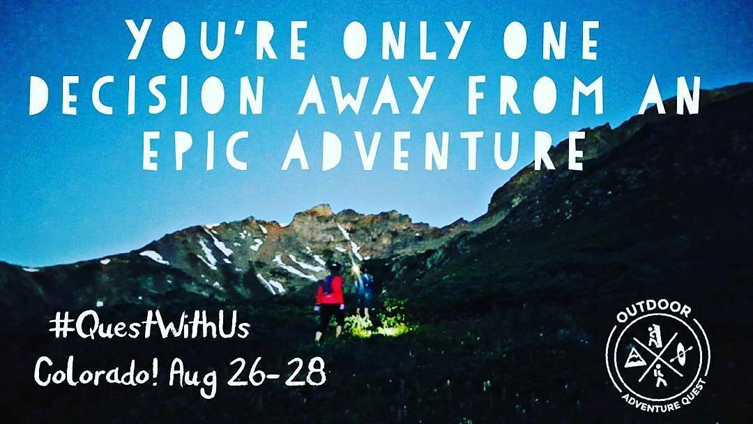 Stoked to sponsor this amazing adventure with @outdooradventurequest Have you registered yet? Statewide quest coming up soon! START ANYWHERE in the state and END ANYWHERE in the state to build-your-own adventure! Over 500 different challenges across...