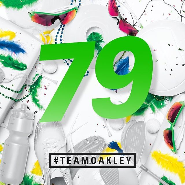 #TeamOakley is still going strong in Rio.
