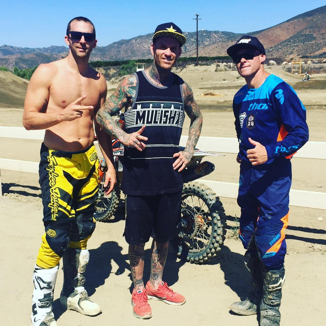 #moto day @officialpalaraceway best rack in #socal .