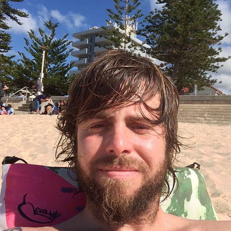 Pura facha tropical por las costas australianas!