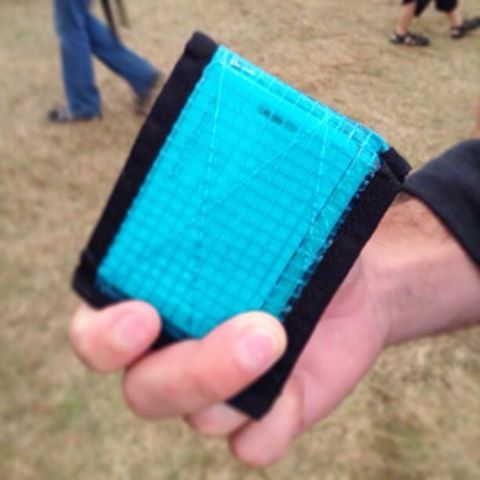 """Happy customer notes are cool: """"Hello, I bought a Flowfold wallet at a street fair in Portland, ME 4 years ago. I love my wallet, use it constantly, tell people all about it whenever they comment, and generally I am a very happy user. About 4 months..."""