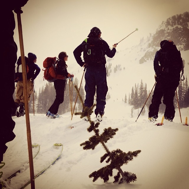 "Scope it, ski it, live it. ""The purpose of life is to live it, to taste it, to experience to the utmost, to reach out eagerly and without fear for newer and richer experience."" - Eleanor Roosevelt  @altadonkeys, @clydzdale, @y0ung_alex, and..."