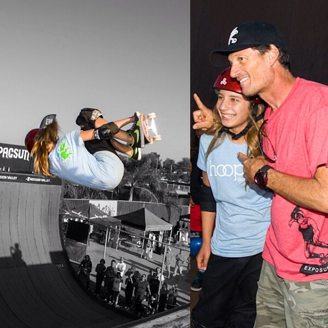#ThrowbackThursday to #Exposure2012. Remember that time @alanasmithskate became the first female to throw a #McTwist in competition and @mikemcgill was there to see it? That was rad. #tbt #skate #skateboarding #skateboard #skatelife #girlswhorip...