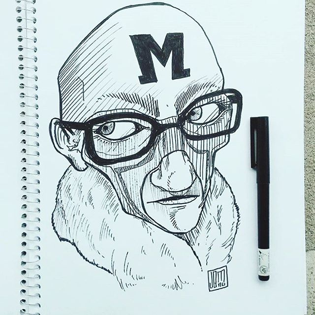 @jomauartwork #austintx #tx • • #art #Spratx #draw #sketch #pen #paper