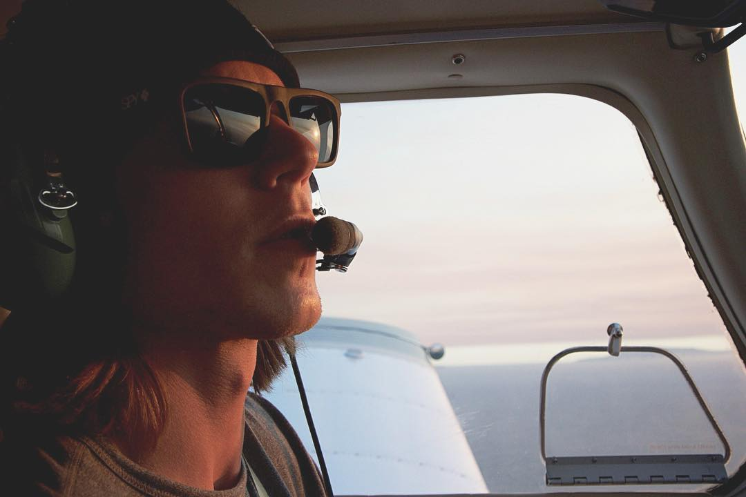 Way up with @davidlesh this #seehappysummer. Happy #NationalAviationDay!