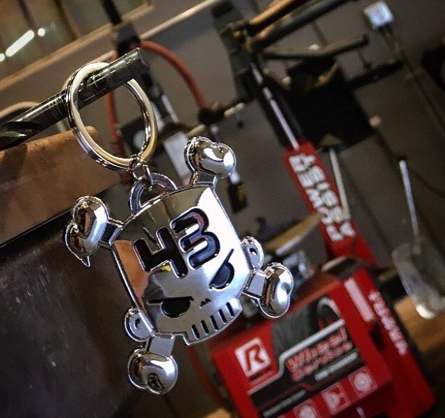 The Block skull key chain is just one of our many accessories. See more on #hooniganDOTcom