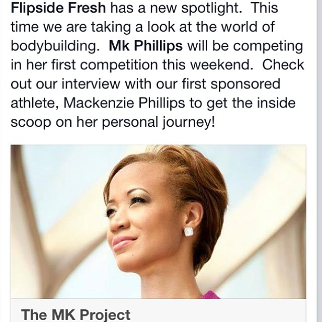 Check out @flipsidefresh latest blog on the world of body building. We sat down with @mkphilli as she embarks on her first competition this upcoming weekend. www.flipsidefresh.com #strongisbeautiful #fitness #fitnesscompetition #bikinicompetition...