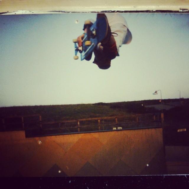 #tbt @dannyway backside air at Mcgills sk8ranch. #mcgillsskatepark #h-street