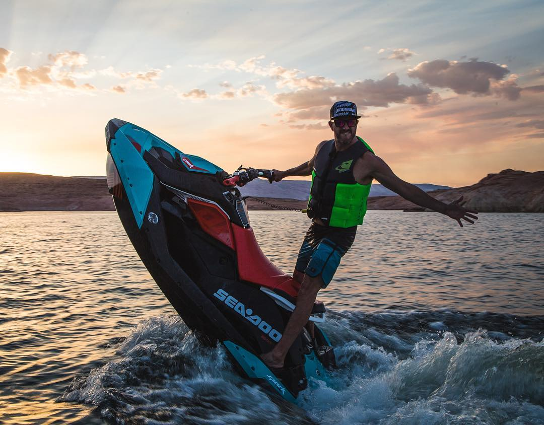 Check it out: the all-new @BRPSeaDoo Spark Trixx! It's been tough not being allowed to show you this thing, since Sea-Doo gave us this top secret one to play with last week at Lake Powell before it launched earlier this week. This thing is dope - it's...