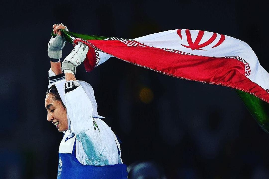 We wanted to share this. #Repost @leaninorg ・・・ History made ✅  With her bronze in taekwondo, Kimia Alizadeh becomes the first Iranian woman to win an Olympic medal.