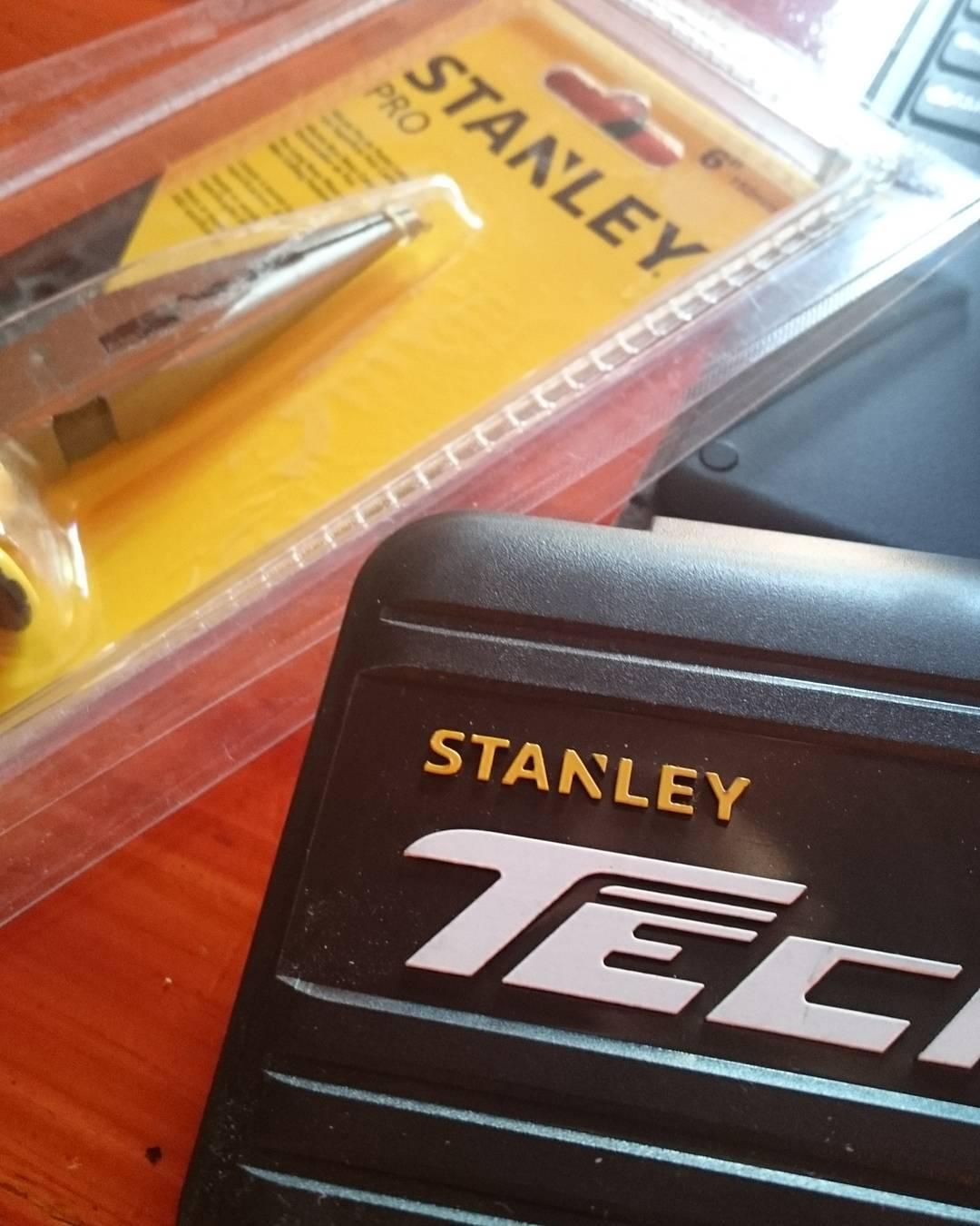 El mejor regalo lejos!!! Gracias bro, te adoro!  #SeAdelanto #TeAdoro #Stanley #Tools