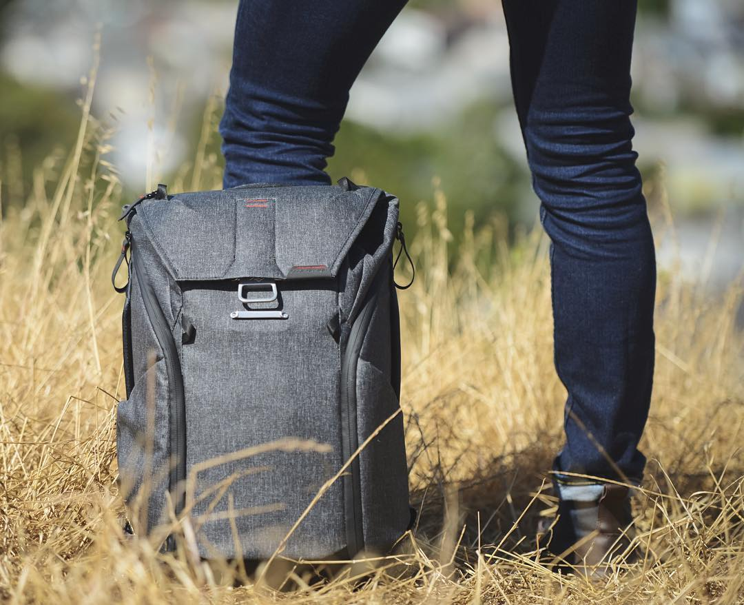 The Everyday Backpack is an ideal companion (shown here in 20L). Kickstarter campaign has less than three weeks left, become a backer today! #findyourpeak #pdkickstarter16