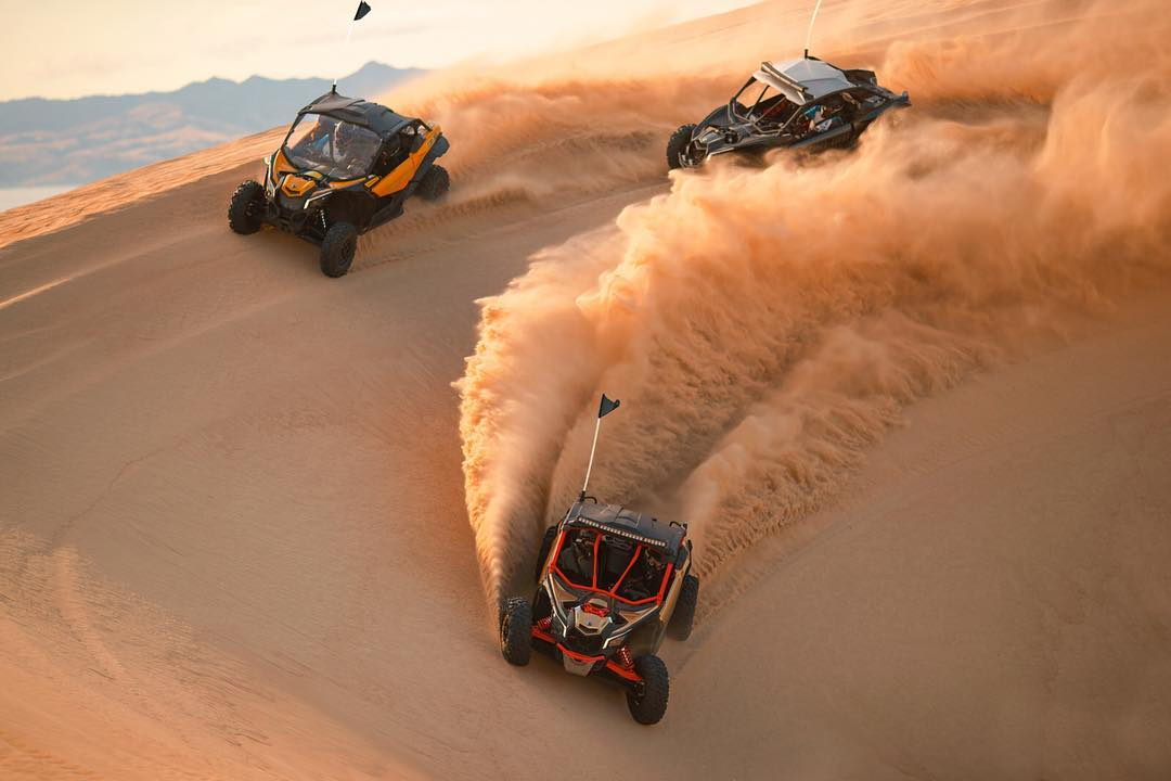 When your whole squad lit. #CanAm #MaverickX3 #offroad #goodtimes