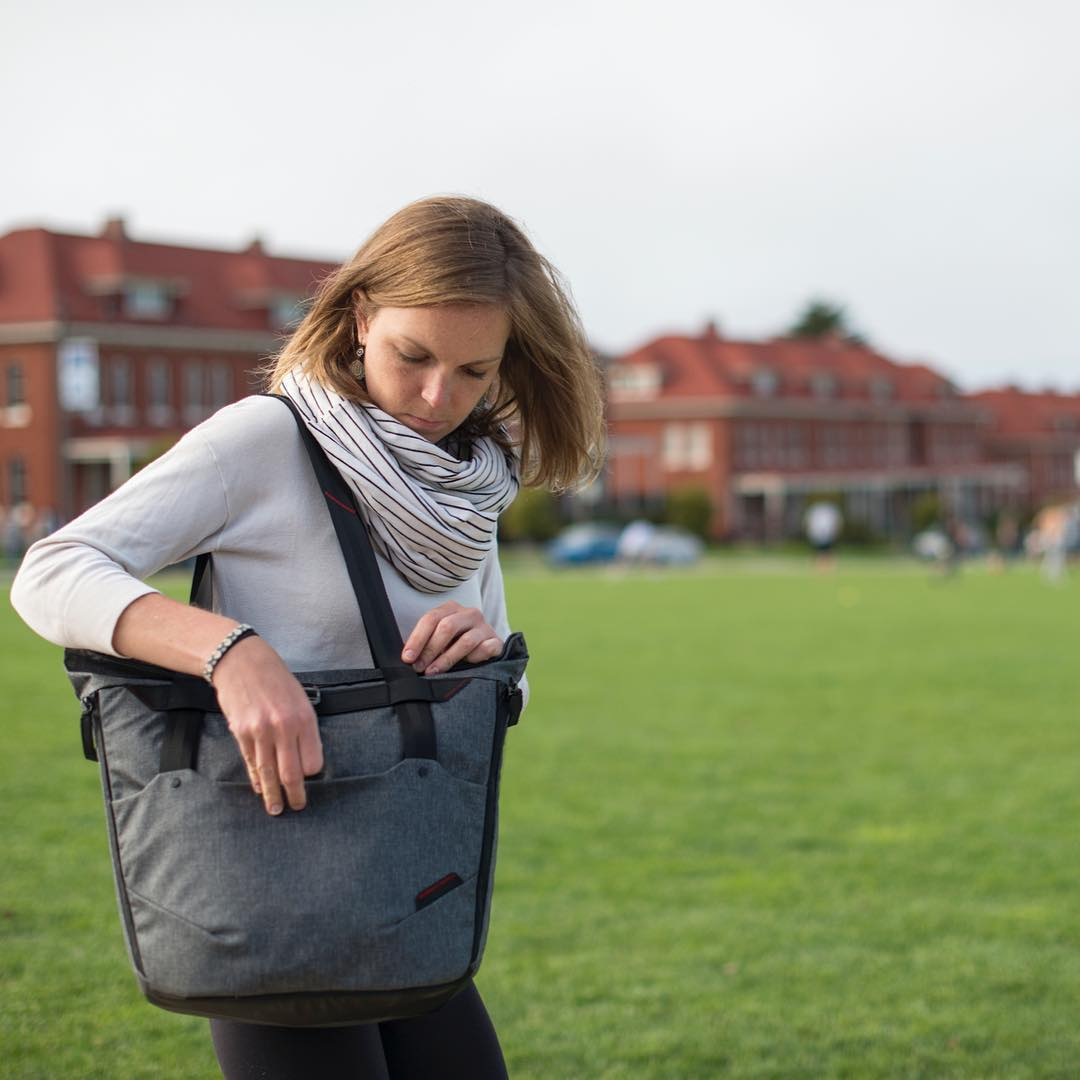The Everyday Tote - rugged, intelligent carry and inspirer of great puns. #findyourpeak #pdkickstarter16