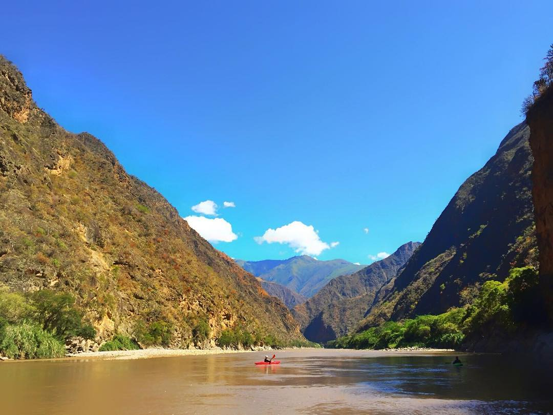 """Rio Maranon: one of the most amazing rivers in Peru, a major tributary to the Amazon, and who also is on her way to being dammed if nothing is done to change the course of her impending future."" - Creative Ambassador, Crista, during an environmental..."