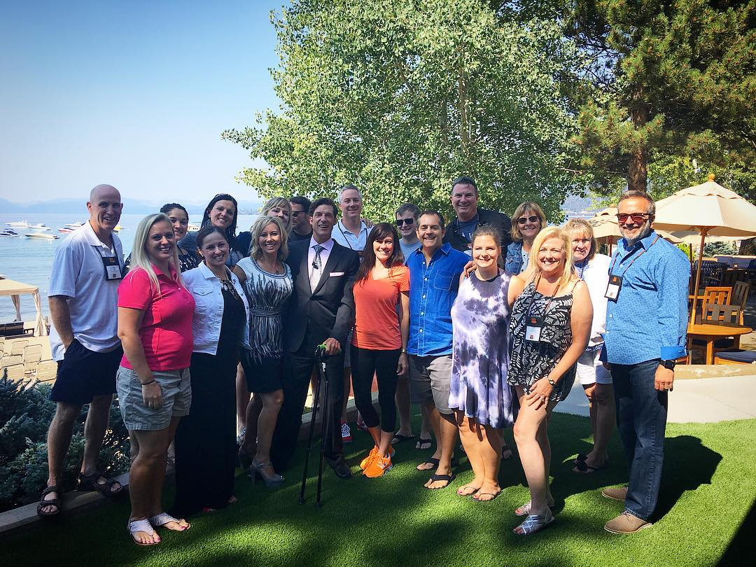 Thank you @hpnglobal & @renotahoeusa for having such an incredible event up at the @hyattlaketahoe's #LoneEagleGrill up in beautiful #InclineVillage, NV.  It was an honor & a pleasure to meet you all - I am looking forward to the next!! #rscva ...