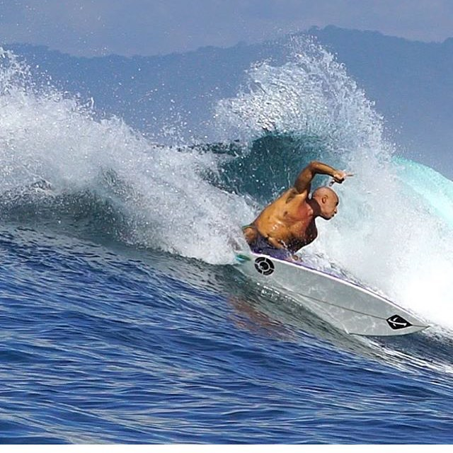 Like a fine wine, he gets better with age. Mike Ho in Bali