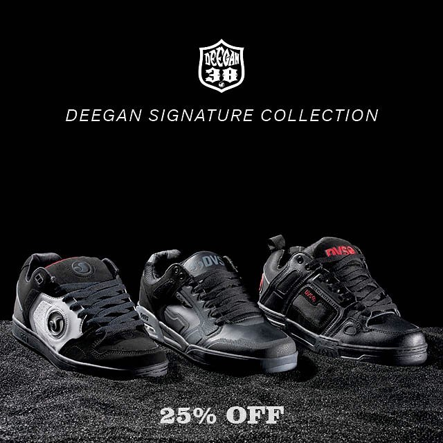 My new @dvsshoes x @briandeegan38 signature collection is now available for a limited time 25% off. Visit my link in bio for all info. #DVScomanche #DVSendurox #DVSdiscord #ALLINGOODFUN