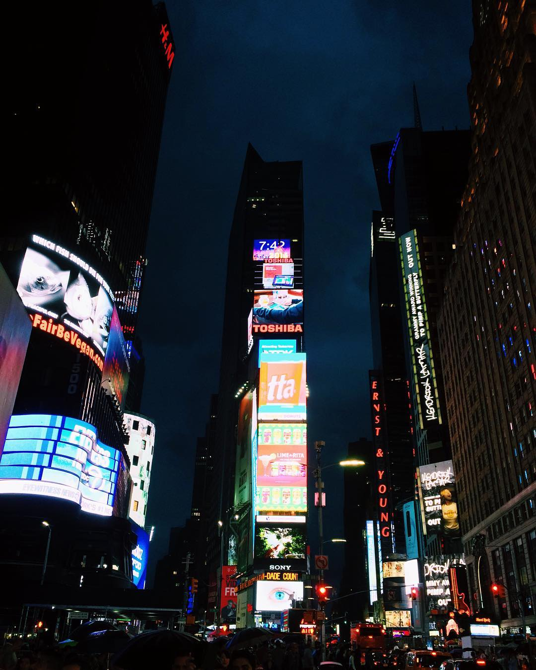 Time Square Lights
