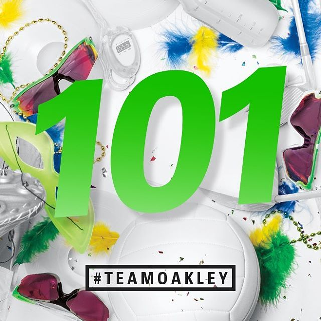 #TeamOakley leaves Rio with 101 podium finishes. To all our athletes - congratulações!