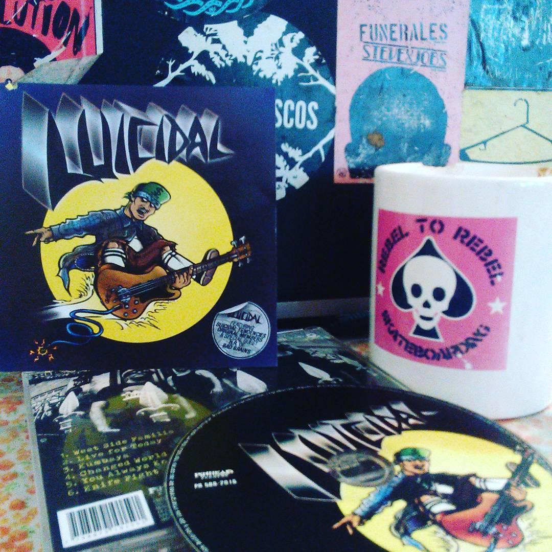 "Luícidal "" ídem"" pinhead records Gracias!"