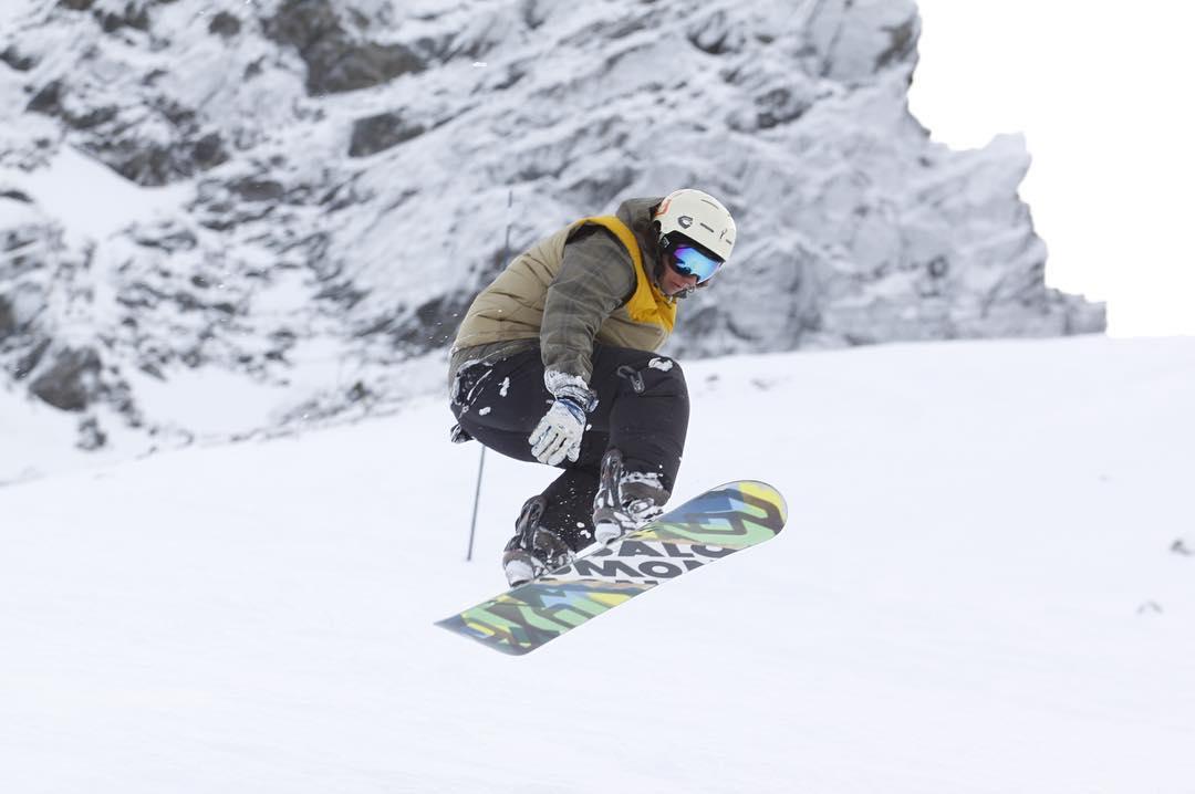 Una de @fefegoni disfrutando la nieve de Ushuaia