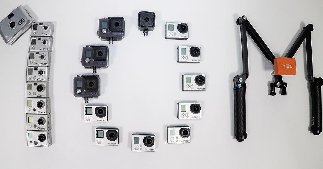 We're celebrating 10M fans on Instagram! Thank you, GoPro Family! The best part of GoPro is YOU, our amazing community. And we're getting bigger! Just like our cameras, we've seen a lot. Since we launched our first HERO, we've gone to outer space, the...