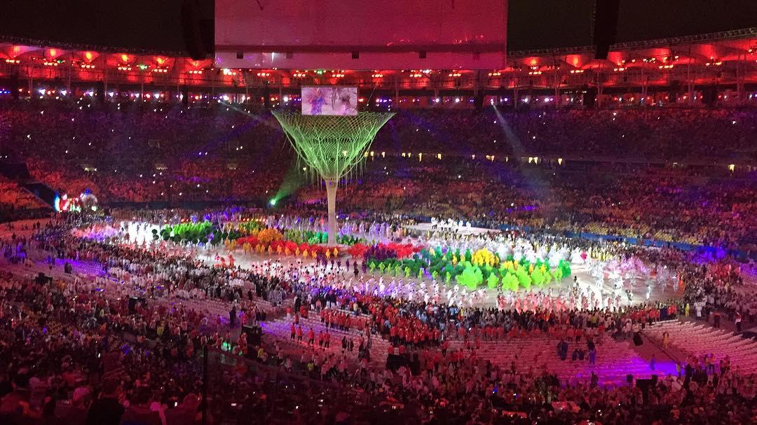 Gran cierre de despedida de los Juegos Olímpicos en el estadio más lindo #Rio2016 #Olympics #Work #OMaracaENosso