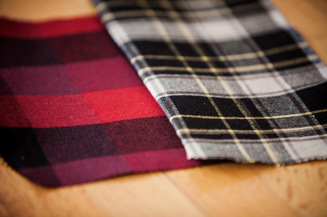 Another preview of fall.  #custom #flannel #madeinusa #pladra