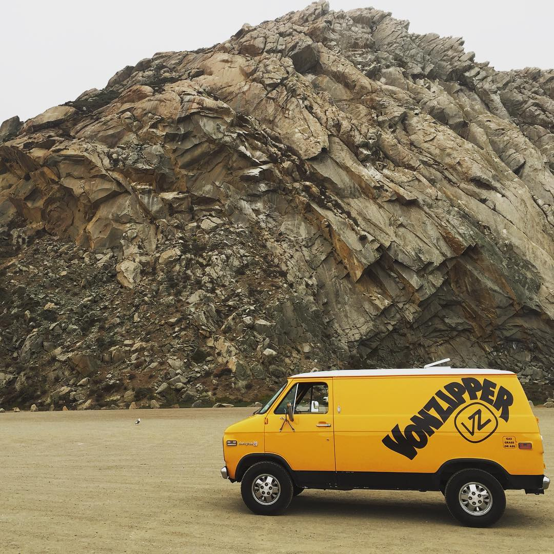 @gteeeee has taken Daisy the van for a little rip up the coast of California to visit shops, slap some fives, and push the peddle through the floor. Spot the van, throw a shaka! #GoDaisyGo - #VonZipper #SupportWildLife