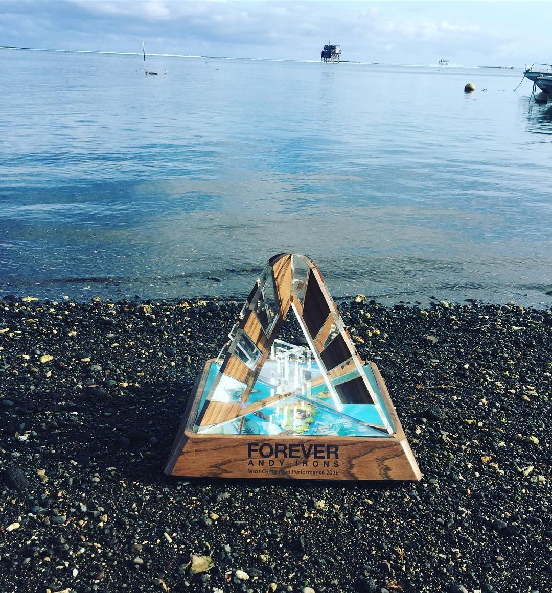 Who will win the coveted Andy Irons Most Committed Performance Award for 2016? #BillabongProTahiti @wsl #AIForever
