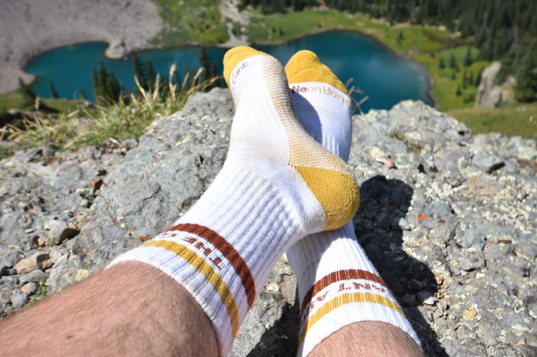 We teamed up with the @gantaspen to create the ultimate all-in-one #sock perfect for any #Colorado #adventure #Aspen #outdoors #activewear #resort #mountains