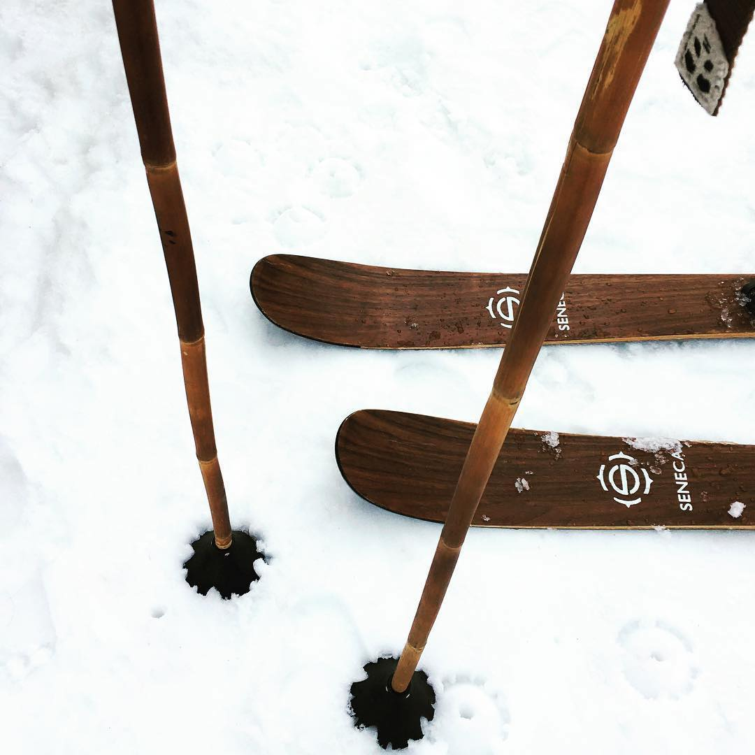 Classy... Real classy... Repost: @sal_sunshine  #PandaPoles #HandCrafted #MagicSkiWands #TribeUP  #Skiing