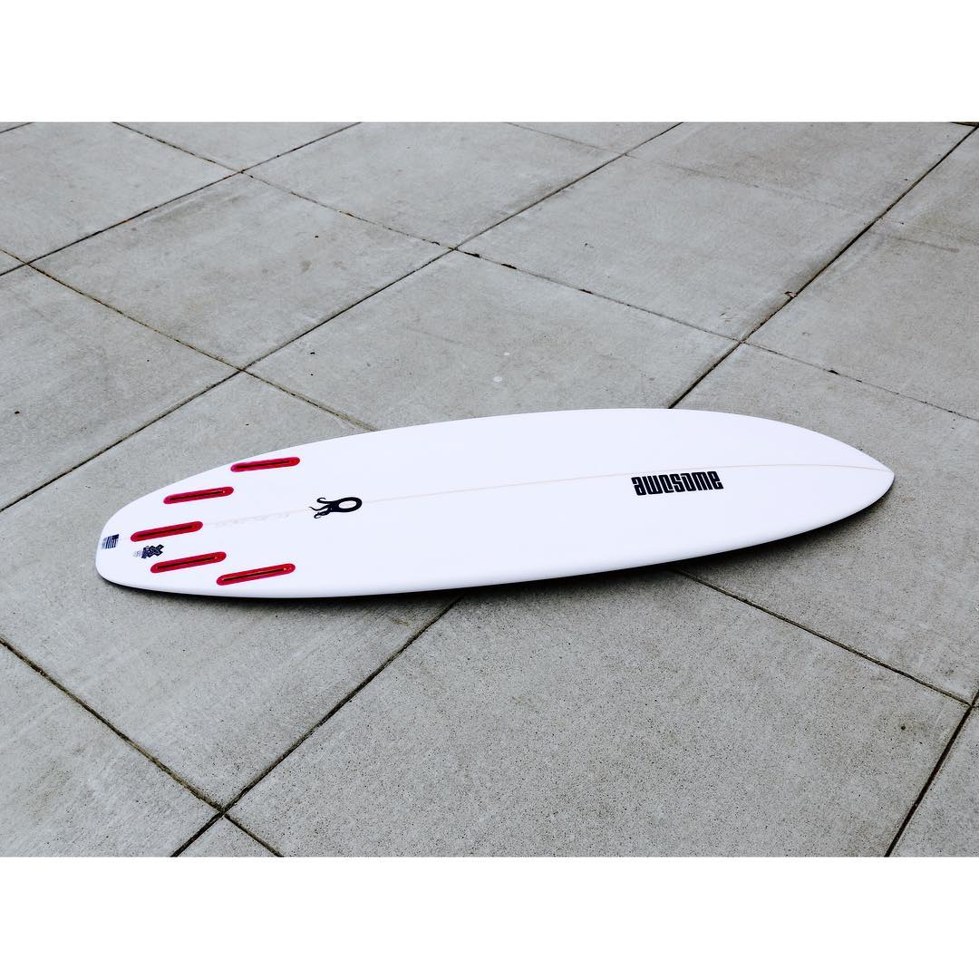 Zero - slightly modified tail with a bit more hip. Eco Glassing #awesome #awesomesurfboards #readyforsummer