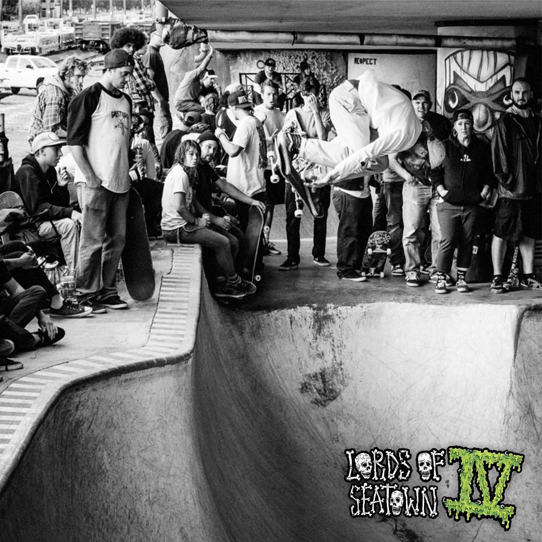 Sunday Sunday Sunday! Come on down to @marginalwayskatepark for #lordsofseatown and see rippers like @iwantittobesky compete for the glory.